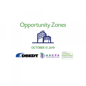Opportunity Zones Seminar Logo