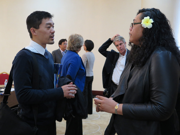Pauline Filemoni chats with Kenny Chang
