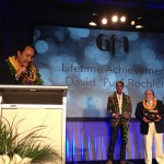 Governor Abercrombie at the Fashion Awards