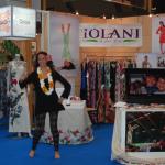 Hula dancer at the JFW International Fashion Fair