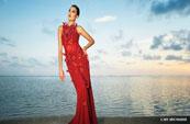 A Model for Hawaii Fashion