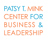 Logo for Patsy Mink Center for Business and Leadership