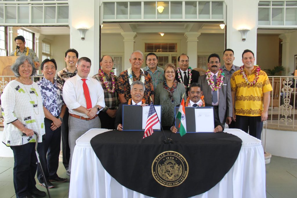 Goa Sister State Signing
