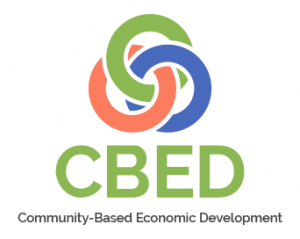 CBED logo - community-based economic development