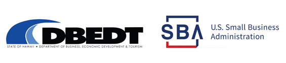 DBEDT and SBA Logos