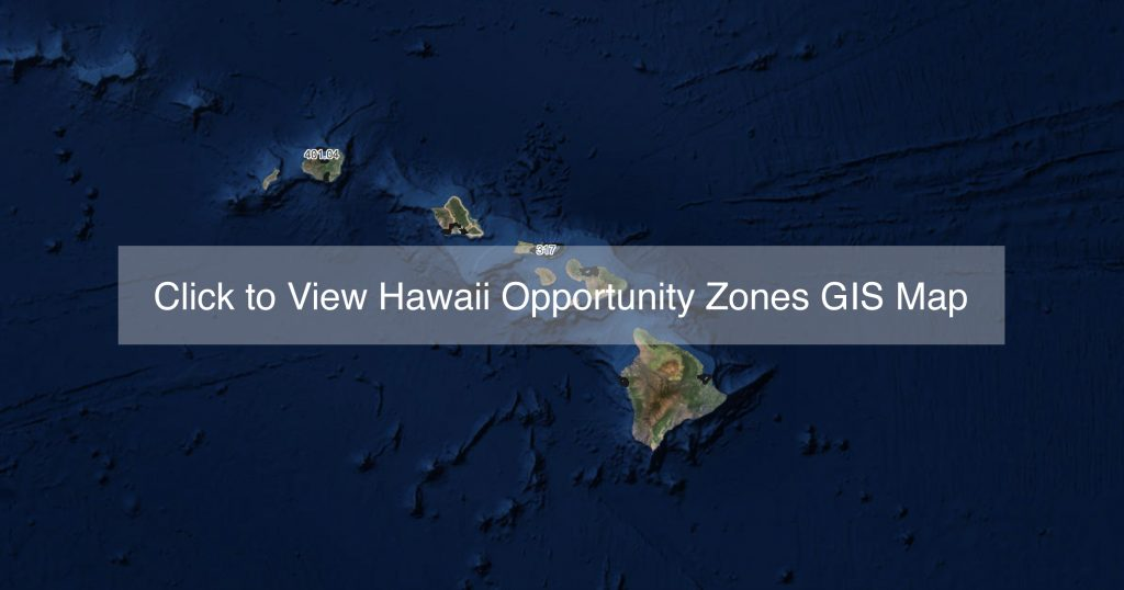 Hawaii Opportunity Zones GIS Map