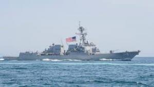 US Military Ship