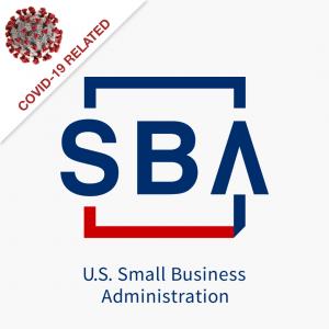 SBA logo COVID tag
