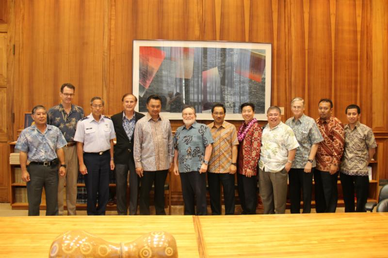 Indonesian Ambassador to the U.S. Dino Djalal, Indonesian Consulate General (Los Angeles) Hadi Martono