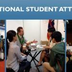 International Student Attraction slide