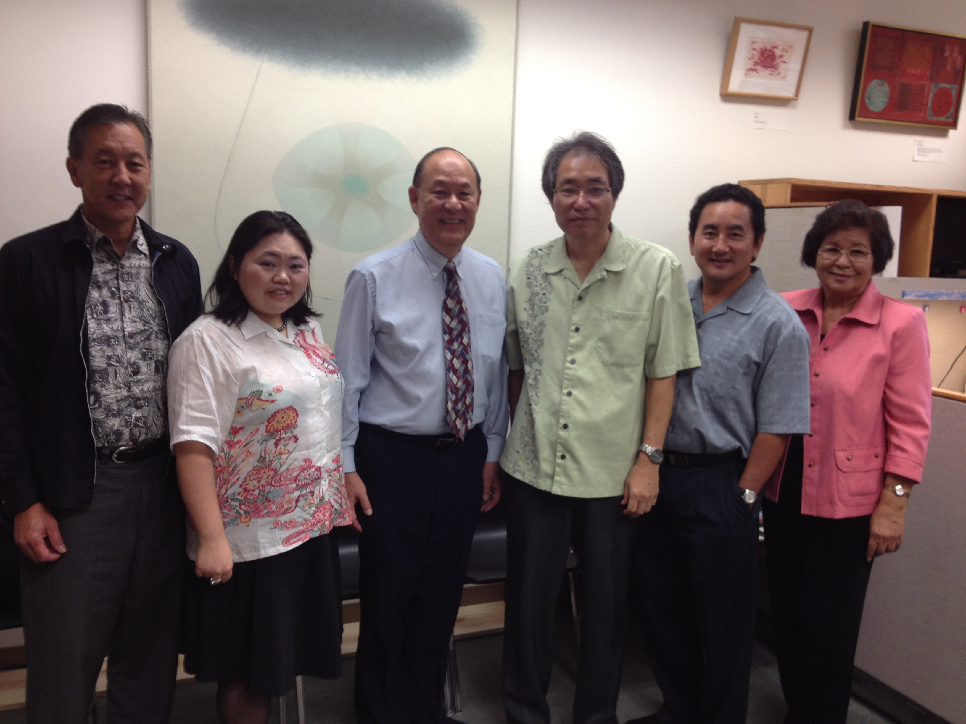 Hawaii Okinawa Association Officials