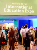 A photo of the Internaional Education Expo