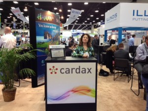 Cardax Booth at BIO convention