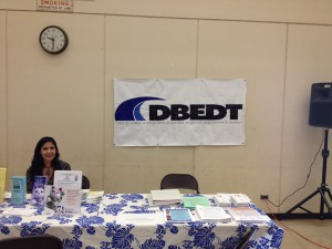 Small Business Fair DCCA and DBEDT table