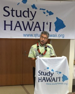 Ige Study Hawaii