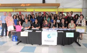 Hawaii Small Business Fair group shot