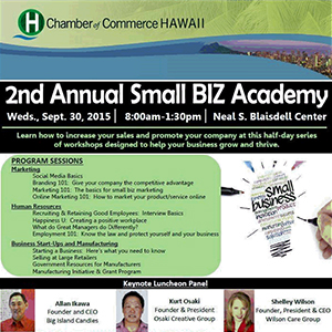 Successful Second Annual Chamber of Commerce Hawaii Small Business Academy post thumbnail