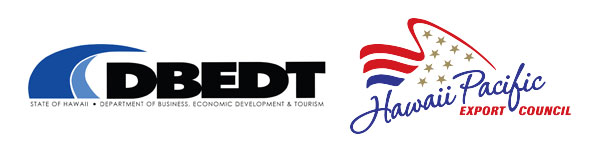 DBEDT and Hawaii Pacific Export Council Logos