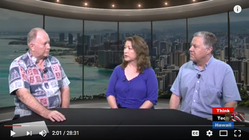 Jamie Lum and Mark Ritchie on ThinkTech Hawaii